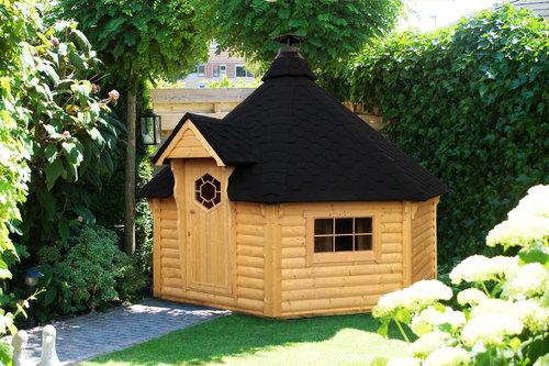Grillkota 16,5qm & Sauna
